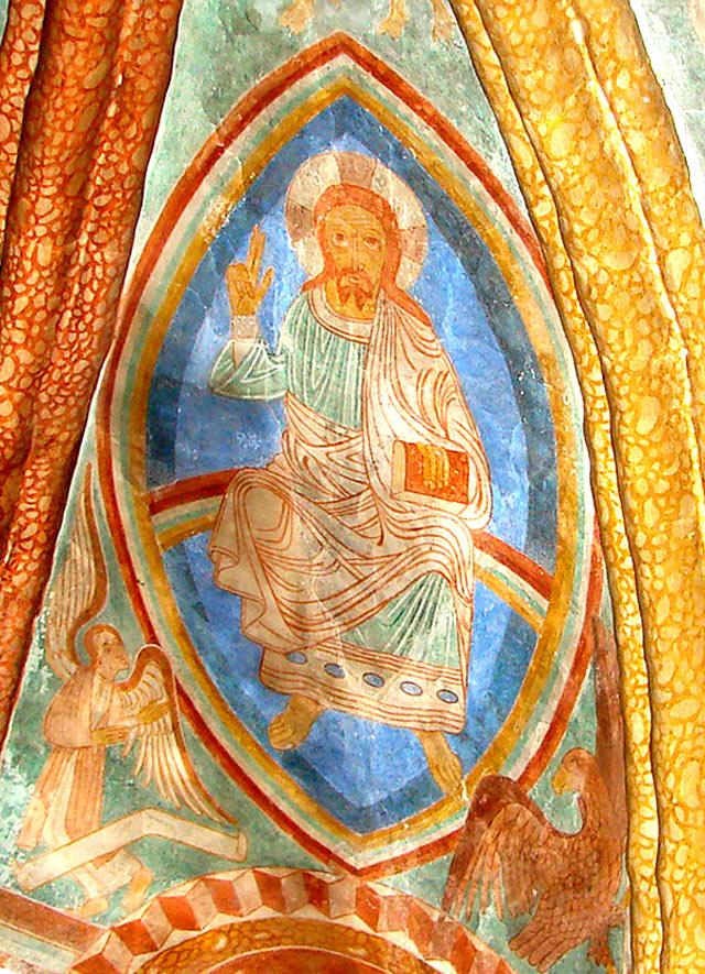 Иисус Христос (фреска)