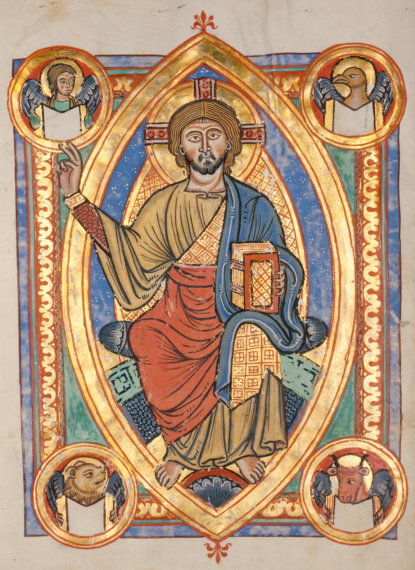 иллюстрация из средневекового манускрипта